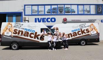 Auta Iveco, IVECO rozdává svačinky svým řidičům kamionů