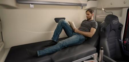 pohodlí v kabině IVECO S-WAY