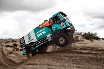 IVECO se opět umístili mezi nejlepšími závodníky nejtěžší rallye na světě