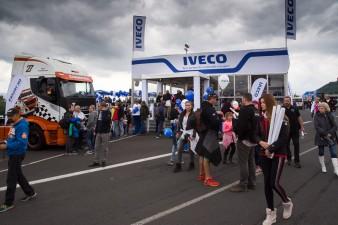 IVECO s týmy Team Schwabentruck a Hahn na Evropském poháru tahačů 2017 v Mostě, 11