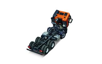 Stralis X-WAY, robustnost podvozku