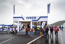 Závodní víkend v Mostě - Iveco Stralis