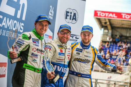 Sunday Podium Le Mans