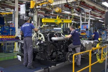 Továrna Iveco v Madridu